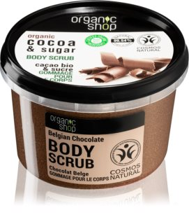 Organic Shop Body Scrub Cocoa & Sugar Body scrub