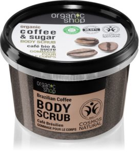 Organic Shop Organic Coffee & Sugar koffie bodyscrub