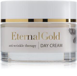Organique Eternal Gold Anti-Wrinkle Therapy дневен крем против бръчки за суха до чувствителна кожа