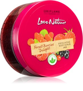 Oriflame Love Nature Forest Berries Delight gommage purifiant corps