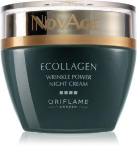Oriflame Novage Ecollagen подмладяващ нощен крем против бръчки