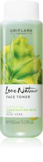 Oriflame Love Nature tónico facial com aloé vera