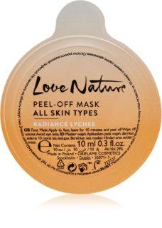 Oriflame Love Nature mascarilla peel-off para todo tipo de pieles