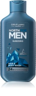 Oriflame North For Men šampon in gel za prhanje 2v1 za moške
