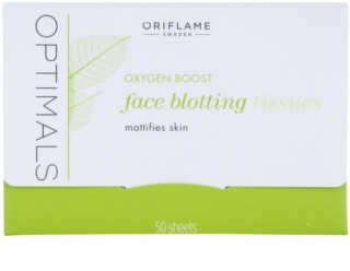 Oriflame Optimals Oxygen Boost papieriky na zmatnenie