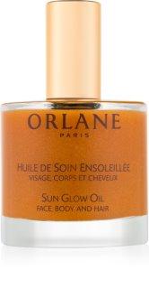 Orlane Sun Glow třpytivý olej na obličej, tělo a vlasy