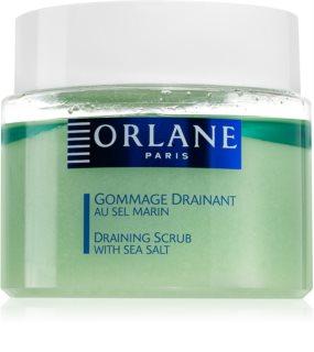 Orlane Draining Scrub detoxifiant pentru corp cu efect de peeling