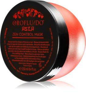 Orofluido Asia Zen Maske mit ernährender Wirkung für unnachgiebige und strapaziertes Haar