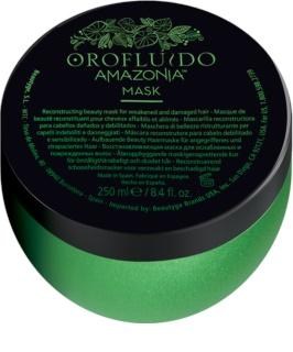 Orofluido Amazonia™ maschera ricostruttore con cheratina