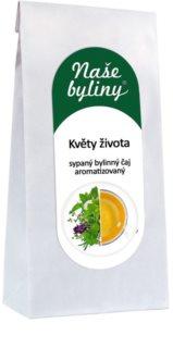 OXALIS Květy života sypaný čaj s nasládlou chutí lipových květů s dotekem citrónu