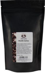 OXALIS Brazílie Santos pražená zrnková plantážní káva (100% Arabica) s chutí čokolády a oříšků s nádechem meruněk