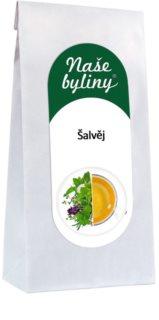OXALIS Šalvěj (list) sypaný čaj z šalvěje lékařské pro normální trávení, hormonální rovnováhu a menopauzální komfort