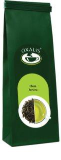 OXALIS China Sencha zelený sypaný čaj z mladých lístků čajovníku s nasládlou chutí a mírně trávovou vůní