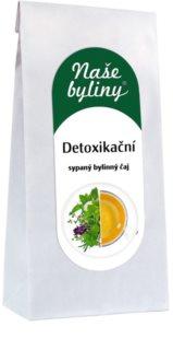 OXALIS Detoxikační sypaný čaj ze směsi ostružiníku, břízy a jablečníku pro normální funkci močových cest a trávení