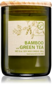Paddywax Eco Green Bamboo & Green Tea scented candle