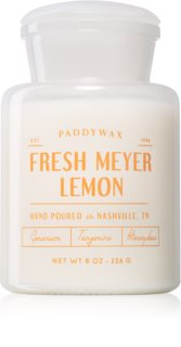 Paddywax Farmhouse Fresh Meyer Lemon bougie parfumée (Apothecary)