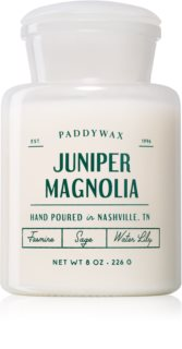 Paddywax Farmhouse Juniper Magnolia scented candle (Apothecary)