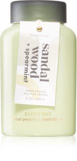 Paddywax Lolli Sandal Wood & Spearmint ароматна свещ