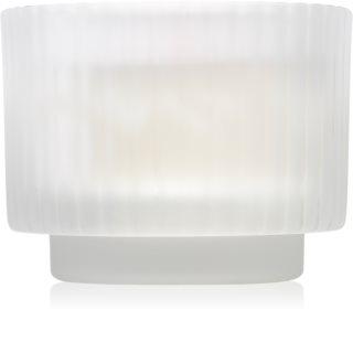 Paddywax White Ribbed Glass vonná svíčka I.