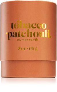 Paddywax Petite Tobacco Patchouli dišeča sveča