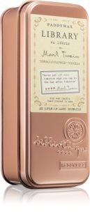 Paddywax Library Mark Twain vela perfumada