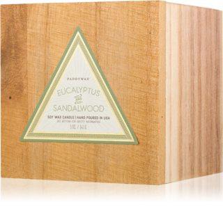 Paddywax Woods Eucalyptus & Sandalwood candela profumata