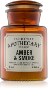 Paddywax Apothecary Amber & Smoke geurkaars