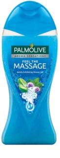 Palmolive Aroma Sensations Feel The Massage gel de duș cu efect exfoliant