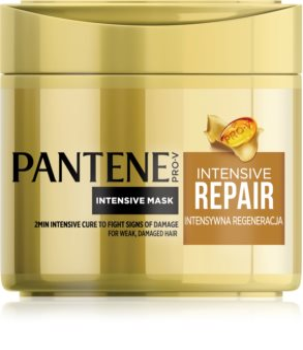 Pantene Intensive Repair masque cheveux régénérant pour cheveux secs et abîmés