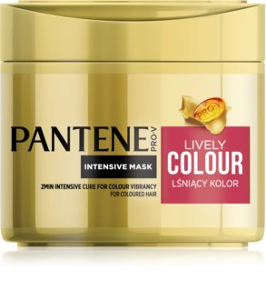 Pantene Lively Colour Hair Mask For Color Protection
