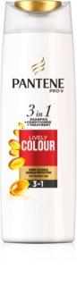 Pantene Lively Colour σαμπουάν για προστασία των βαμμένων μαλλιών 3 σε 1