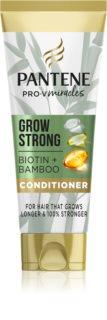 Pantene Grow Strong Biotin & Bamboo Hoitoaine Hiustenlähtöä Vastaan