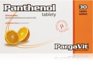 PargaVit Panthenol pomeranč doplněk stravy pro regeneraci organismu a podporu metabolismu tuků