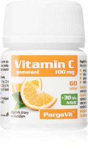 PargaVit Vitamin C 100 g pro posílení imunity s příchutí pomeranče