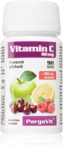 PargaVit Vitamin C 80 g posílení imunity ve čtyřech příchutích