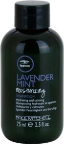 Paul Mitchell Tea Tree Lavender Mint Moisturizing Shampoo™ hydratačný a upokojujúci šampón pre suché a nepoddajné vlasy
