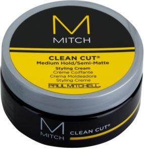 Paul Mitchell Mitch Clean Cut polomatný stylingový krém stredné spevnenie