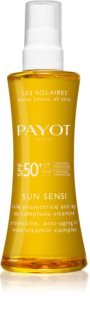 Payot Sun Sensi aceite solar cuerpo y cabello  SPF 50+