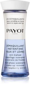 Payot Les Démaquillantes Zweiphasen-Make-up-Entferner für wasserfestes Augen- und Lippen-Make-up