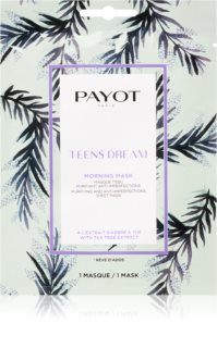 Payot Morning Mask Teens Dream Refreshing and Purifying Sheet Mask For Combination To Oily Skin