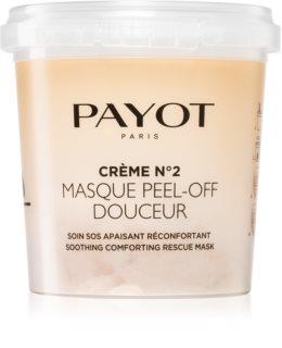 Payot Crème No.2 Masque Peel-Off Douceur Peel-Off maska za lice za smirenje kože lica