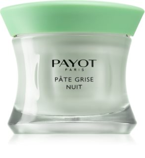 Payot Pâte Grise Nuit Cleansing Cream for Problematic Skin, Acne