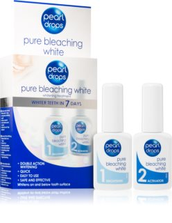 Pearl Drops Pure Bleaching White kit de branqueamento dental