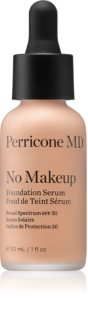 Perricone MD No Makeup Foundation Serum base de maquillaje ligera para un aspecto natural