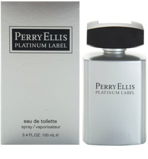 Perry Ellis Platinum Label eau de toilette pour homme 100 ml