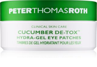 Peter Thomas Roth Cucumber De-Tox зволожуюча гелева маска для очей