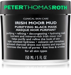 Peter Thomas Roth Irish Moor Mud reinigend zwart masker