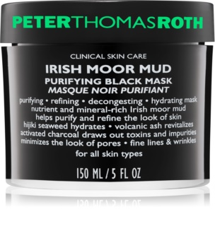 Peter Thomas Roth Irish Moor Mud máscara negra de limpeza