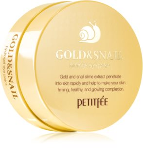 Petitfee Gold & Snail Hydrogel Eye Mask with Snail Extract