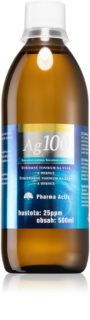 Pharma Activ Koloidní stříbro 25ppm pleťové tonikum s obsahem nejjakostnějšího stříbra pro zdravou pokožku
